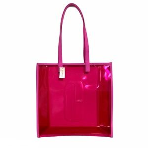 Clinique Pink See Through Tote Bag